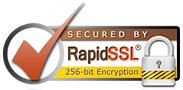 Secured by RapidSSL 256-bit Encryption